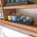 Tassenhalter aus Hartschaum für Tassen und Gläser