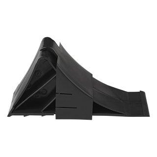 Unterlegkeil Kunststoff schwarz inkl. Halter