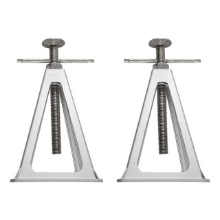 Stützbock-Set von 2 Stück Aluminium