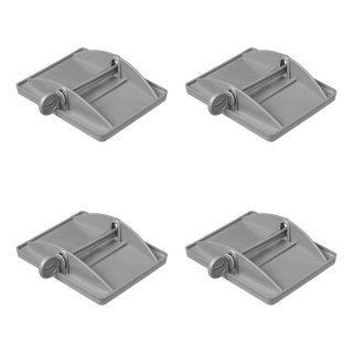 Stützplatten XL Set von 4 Stück