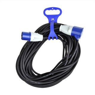 Kabelbinder mit Handgriff für CEE Kabel