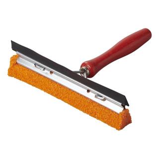 Scheibenwascher 20cm mit Holzgriff