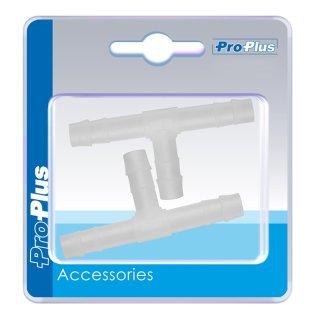 Schlauchverbinder T-Stück 8mm 2 Stück im Blister