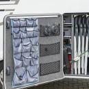 Ablagenetz elastisch mit Rahmen Kunststoff NS-16