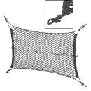 Gepäcknetz elastisch mit Kunststoff-Haken NS-3
