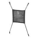 Ablagenetz elastisch mit Kunststoff-Haken NS-7