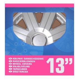 Radblenden-Set Cosmos 13 Zoll 4 Stück im Displaykarton
