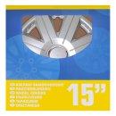 Radblenden-Set Cosmos 15 Zoll 4 Stück im Displaykarton