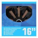 Radblenden-Set Fox schwarz 16 Zoll 4 Stück im...