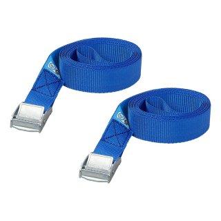 Spanngurt blau mit Schnellverschluss 2x2,5 Meter