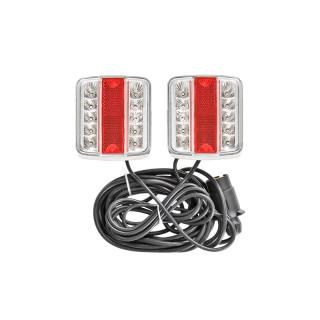 Rückleuchten-Set LED auf Magnet