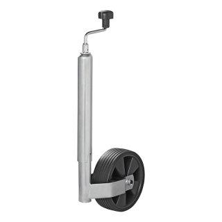 Stützrad Kunststoff-Felge mit Vollgummi-Reifen