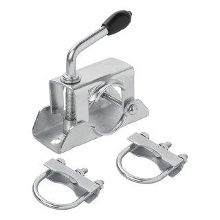 Klemmschelle für Stützrad + U-Bügel Set von 2 Stück
