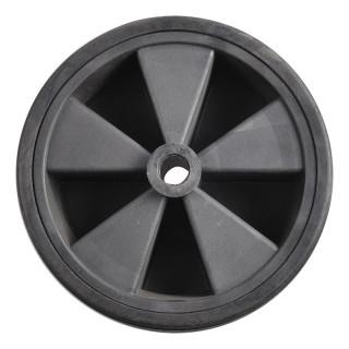 Ersatzrad für Stützrad Kunststoff-Felge mit Vollgummi-Reifen