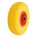 PU-Reifen mit Kunststoff-Felge