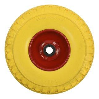 PU-Reifen mit Metall-Felge
