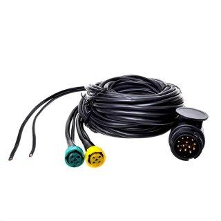 Kabelsatz mit Stecker 13-polig und 2x Steckverbinder 5-polig