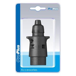 Stecker 7-polig PVC im Blister