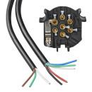Kabelsatz 7+1-polig PVC im Blister