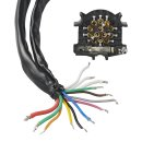 Kabelsatz 13-polig PVC System Jaeger im Blister