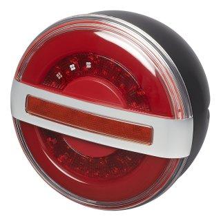 Rückleuchte 3 Funktionen LED mit dynamischem Blinklicht