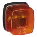 Seitenmarkierungsleuchte orange 65x60mm PM im Blister