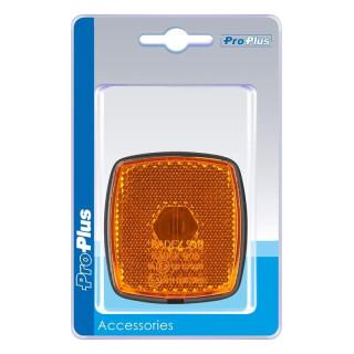 Seitenmarkierungsleuchte orange 66x62mm im Blister