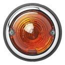 Seitenmarkierungsleuchte orange 70mm im Blister
