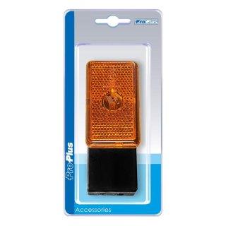 Seitenmarkierungsleuchte orange 110x45x51mm im Blister