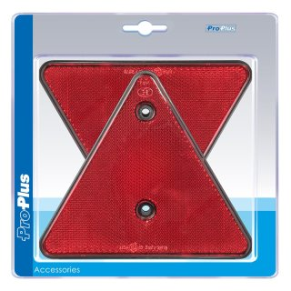 Dreieckrückstrahler 2 Stück im Blister