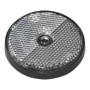 Reflektor weiß 60mm Schraubbefestigung 2 Stück im Blister