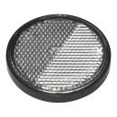 Reflektor weiß 58mm selbstklebend mit Grundplatte 2 Stück im Blister