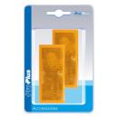 Reflektor orange 82x36mm selbstklebend 2 Stück im...