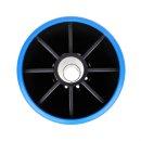 Kielrolle PE blau