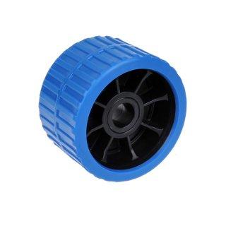 Seitenrolle PE blau