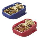 Batteriepol-Schnellverbinder-Set (+) und (-) im Blister