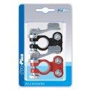Batteriepol-Schnellverbinder-Set (+) und (-) rot/schwarz im Blister
