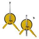 Radkralle 13 -16 Zoll mit Stahlplatte