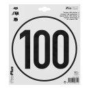 Tempo-100 Aufkleber
