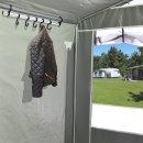 Zeltkleiderhaken Leiste mit 7 Haken