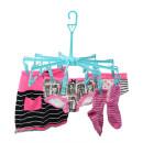 Trockenkarussell mit 18 Wäscheklammern