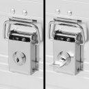 Zylinderschlösser für Aluminiumbox Set von 2 Stück