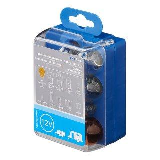 Lampenersatzkasten für Anhänger & Wohnwagen 12-teilig