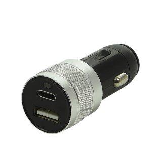 USB Ladegerät Typ A + C zweifach