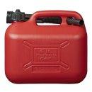 Benzinkanister 5L Kunststoff rot UN-geprüft