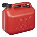 Benzinkanister 10L Kunststoff rot UN-geprüft