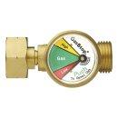 GasStop Notschlussarmatur für Propangasflaschen NL