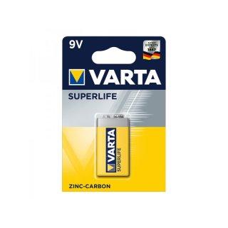 Varta Superlife Batterie 9V